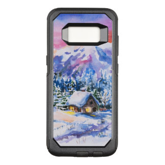 Capa OtterBox Commuter Para Samsung Galaxy S8 Paisagem do inverno