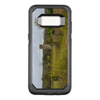 Capa OtterBox Commuter Para Samsung Galaxy S8 Paisagem do silo do país de origem