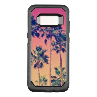 Capa OtterBox Commuter Para Samsung Galaxy S8 Palmeiras tropicais femininos