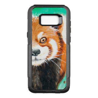 Capa OtterBox Commuter Para Samsung Galaxy S8+ Panda vermelha bonito