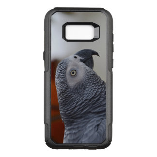 Capa OtterBox Commuter Para Samsung Galaxy S8+ Papagaio majestoso do cinza africano