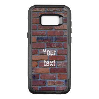 Capa OtterBox Commuter Para Samsung Galaxy S8+ Parede de tijolo - tijolos e almofariz misturados