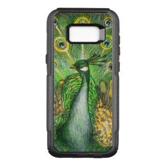 Capa OtterBox Commuter Para Samsung Galaxy S8+ Pavão verde