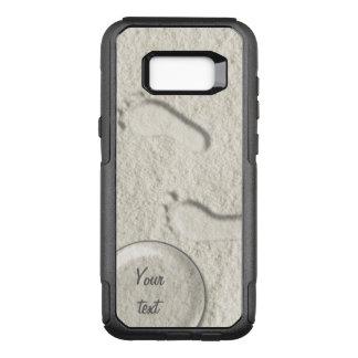 Capa OtterBox Commuter Para Samsung Galaxy S8+ Pegada/pegadas feitas sob encomenda no design do
