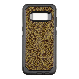 Capa OtterBox Commuter Para Samsung Galaxy S8 Pele do leopardo