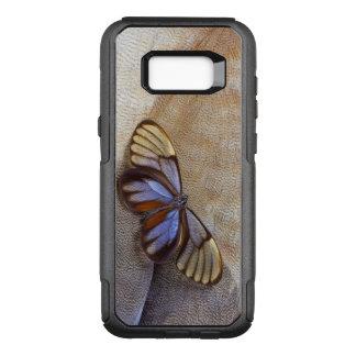 Capa OtterBox Commuter Para Samsung Galaxy S8+ pena egípcia do ganso da borboleta da Vidro-asa