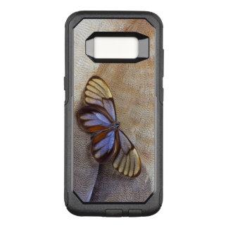 Capa OtterBox Commuter Para Samsung Galaxy S8 pena egípcia do ganso da borboleta da Vidro-asa