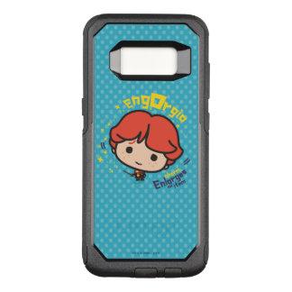Capa OtterBox Commuter Para Samsung Galaxy S8 Período de Ron Weasley Engorgio dos desenhos