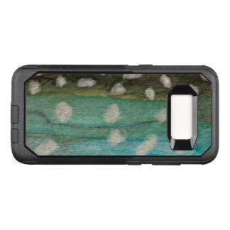 Capa OtterBox Commuter Para Samsung Galaxy S8 Pesca do carvão animal de Greenland, ictiologia
