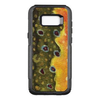 Capa OtterBox Commuter Para Samsung Galaxy S8+ Pescador da truta de ribeiro, Ichthyologist