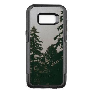 Capa OtterBox Commuter Para Samsung Galaxy S8+ Pinhos escuros da natureza do pinheiro da floresta