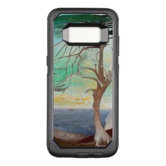 Capa OtterBox Commuter Para Samsung Galaxy S8 Pintura de paisagem só da árvore de cedro