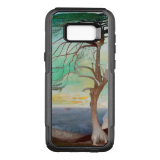 Capa OtterBox Commuter Para Samsung Galaxy S8+ Pintura de paisagem só da árvore de cedro