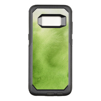 Capa OtterBox Commuter Para Samsung Galaxy S8 pinturas da aguarela em um papel áspero da textura