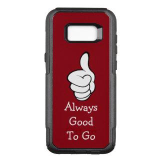 Capa OtterBox Commuter Para Samsung Galaxy S8+ Polegares positivos da mensagem acima