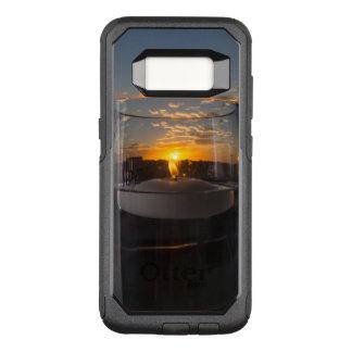 Capa OtterBox Commuter Para Samsung Galaxy S8 Por do sol da luz de vela