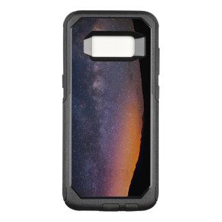 Capa OtterBox Commuter Para Samsung Galaxy S8 Por do sol da Via Láctea do Vale da Morte