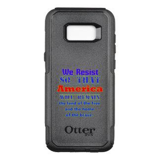 Capa OtterBox Commuter Para Samsung Galaxy S8+ Porque nós resistimos. Para Amerca