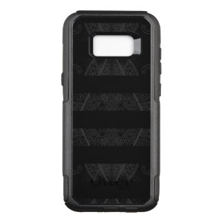 Capa OtterBox Commuter Para Samsung Galaxy S8+ Preto Embellished Argyle listrado