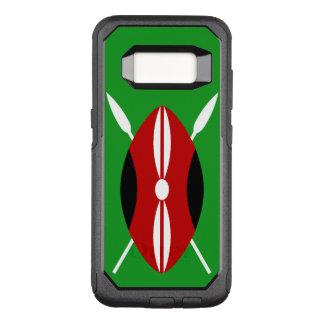 Capa OtterBox Commuter Para Samsung Galaxy S8 Protetor de Maasai do Kenyan