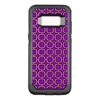 Capa OtterBox Commuter Para Samsung Galaxy S8 Quatrefoil farpado ornamentado (cor ajustável)