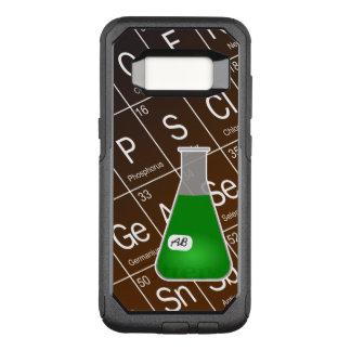 Capa OtterBox Commuter Para Samsung Galaxy S8 Química verde da garrafa de Erlenmeyer (com