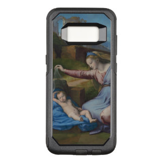 Capa OtterBox Commuter Para Samsung Galaxy S8 Raphael Madonna com Diadem azul