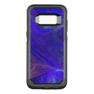 Capa OtterBox Commuter Para Samsung Galaxy S8 Redemoinhos enevoados bonito de azuis dos verdes
