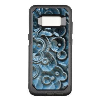 Capa OtterBox Commuter Para Samsung Galaxy S8 Reflexões de um fóssil do Fractal