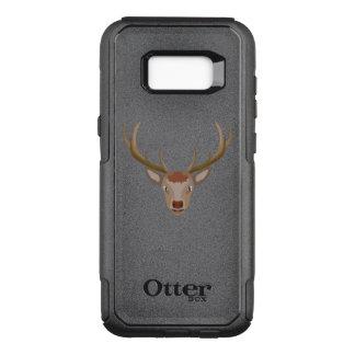 Capa OtterBox Commuter Para Samsung Galaxy S8+ Rena do Feliz Natal