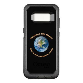 Capa OtterBox Commuter Para Samsung Galaxy S8 Respeite nossa caixa da galáxia S8 de OtterBox da