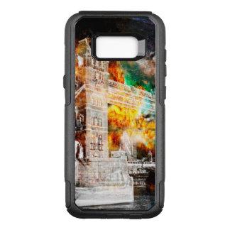 Capa OtterBox Commuter Para Samsung Galaxy S8+ Respire outra vez sonhos de Londres
