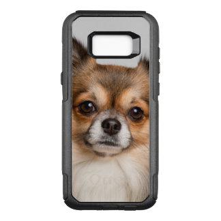 Capa OtterBox Commuter Para Samsung Galaxy S8+ Retrato impressionante da chihuahua