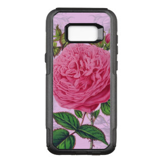Capa OtterBox Commuter Para Samsung Galaxy S8+ Romântico cor-de-rosa aumentou