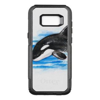 Capa OtterBox Commuter Para Samsung Galaxy S8+ Rompimento da orca