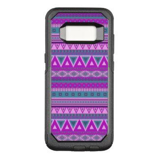 Capa OtterBox Commuter Para Samsung Galaxy S8 rosa tribal extravagante do teste padrão 08 da