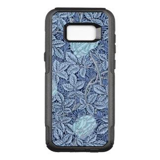 Capa OtterBox Commuter Para Samsung Galaxy S8+ Rosas azuis do Victorian