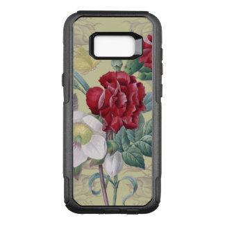 Capa OtterBox Commuter Para Samsung Galaxy S8+ Rosas do cravo da anêmona