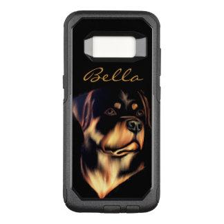 Capa OtterBox Commuter Para Samsung Galaxy S8 Rottweiler customizável
