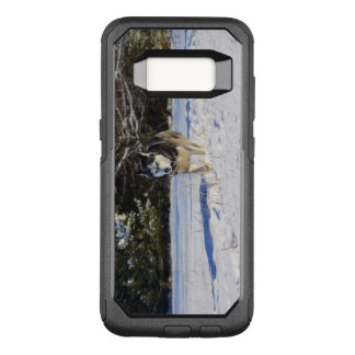 Capa OtterBox Commuter Para Samsung Galaxy S8 Rouco Siberian na neve