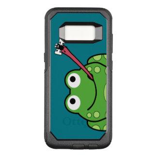 Capa OtterBox Commuter Para Samsung Galaxy S8 Sapo e mosca engraçados