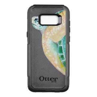Capa OtterBox Commuter Para Samsung Galaxy S8+ Seaturtle