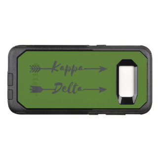 Capa OtterBox Commuter Para Samsung Galaxy S8 Seta do delta do Kappa