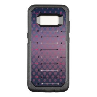 Capa OtterBox Commuter Para Samsung Galaxy S8 Setas de Boho