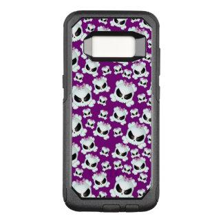 Capa OtterBox Commuter Para Samsung Galaxy S8 Skullz feminino