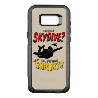 Capa OtterBox Commuter Para Samsung Galaxy S8+ Skydive ou galinha? (preto)