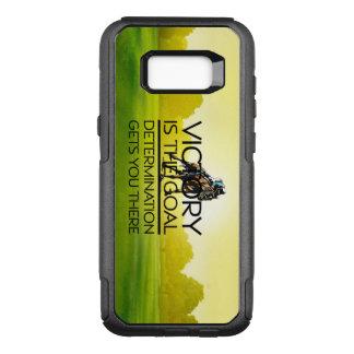 Capa OtterBox Commuter Para Samsung Galaxy S8+ Slogan SUPERIOR da vitória da corrida de cavalos