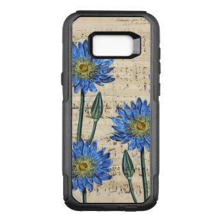 Capa OtterBox Commuter Para Samsung Galaxy S8+ Sonho de Lotus azul