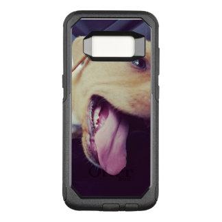 Capa OtterBox Commuter Para Samsung Galaxy S8 Sorriso do filhote de cachorro