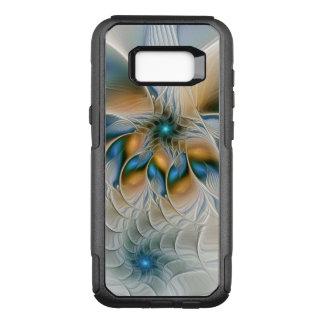 Capa OtterBox Commuter Para Samsung Galaxy S8+ Subindo, abstraia a arte do Fractal da fantasia